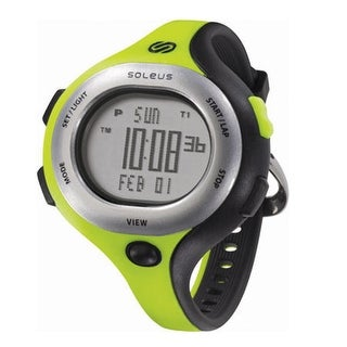 "Refurbished ""Soleus Chicked Womens 30 Lap Memory Sports Watch"""