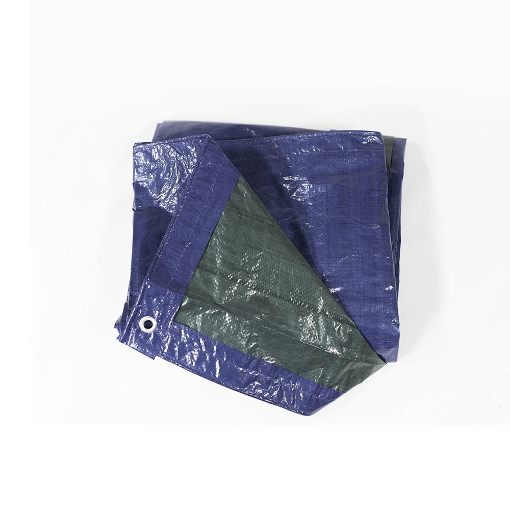 Sunnydaze Waterproof Multi-Purpose Poly Tarp, Size and Color Options Available - Blue/Green - Thumbnail 1
