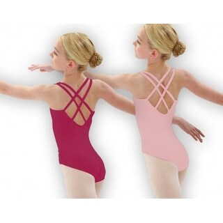 Capezio Cami W/Double Back Strap Leotard - Intermediate