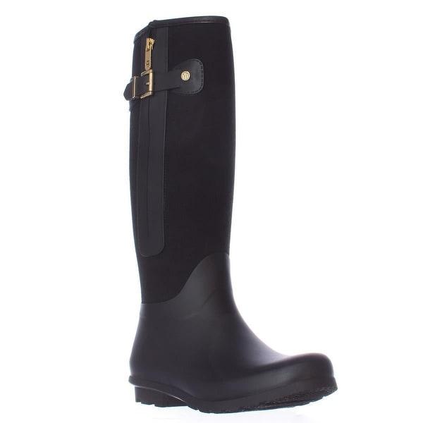 3d668ab48e4b9e Shop Tommy Hilfiger Mela Tall Rain Boots