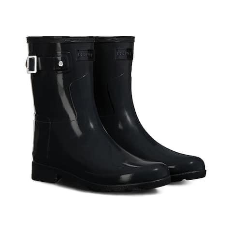 Hunter Original Refined Short Gloss Boot