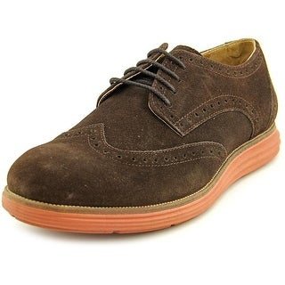Vito Rossi Flex Ox Men Round Toe Suede Brown Oxford