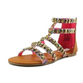 Steve Madden Cameoo Women Open Toe Synthetic Gladiator Sandal