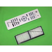 Epson Air Filter & Remote Control PowerLite Home Cinema 8100, 8350, 8500 UB 8700