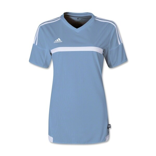 Adidas Women's MLS 15 Match Jersey T-Shirt Smoke Blue/White - Blue. Opens flyout.