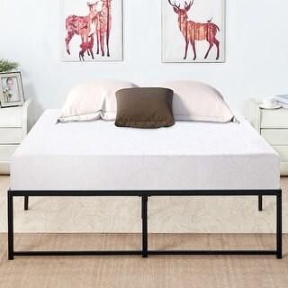 VECELO Metal Platform Beds 14 Inch Storage Bed Frames Mattress Foundation Buy Full-Double, Online at Overstock.com | Our Best