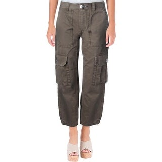 2648e66981486 Shop Marc by Marc Jacobs Womens Cargo Pants Cropped High Rise - Free  Shipping On Orders Over  45 - Overstock - 20033825