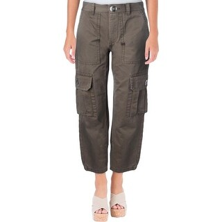 Marc by Marc Jacobs Womens Cargo Pants Cropped High Rise