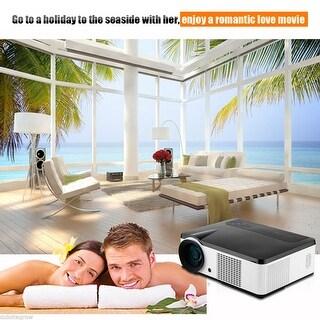 Excelvan LCD 2000 Lumens LED HD Home Cinema Projector AV/VGA/HDMI/ATV DVD