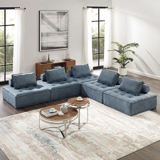Link to Art-Leon Modern Square Modular Sectional Sofa Similar Items in Living Room Furniture