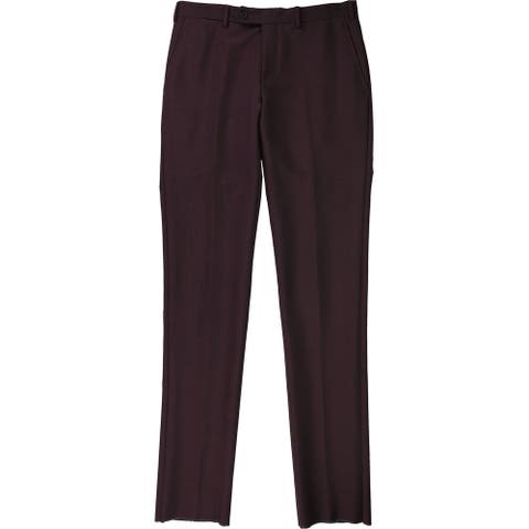 Eidos Napoli Mens Solid Dress Pants Slacks