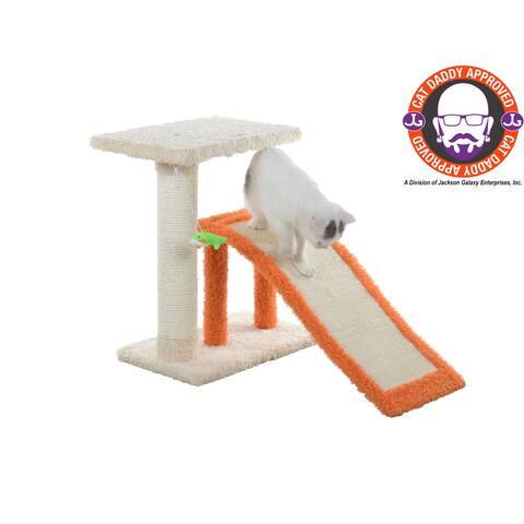 Armarkat Model X2101 Two-Level Platform Scratcher W Sisal Carpet Ramp