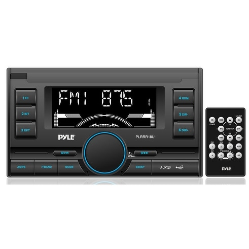 Pyle mechless double din radio