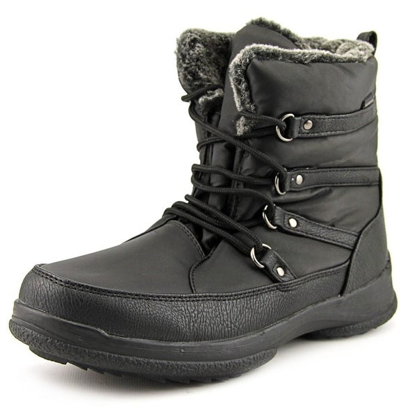 Weatherproof Tara Women Black Snow Boots
