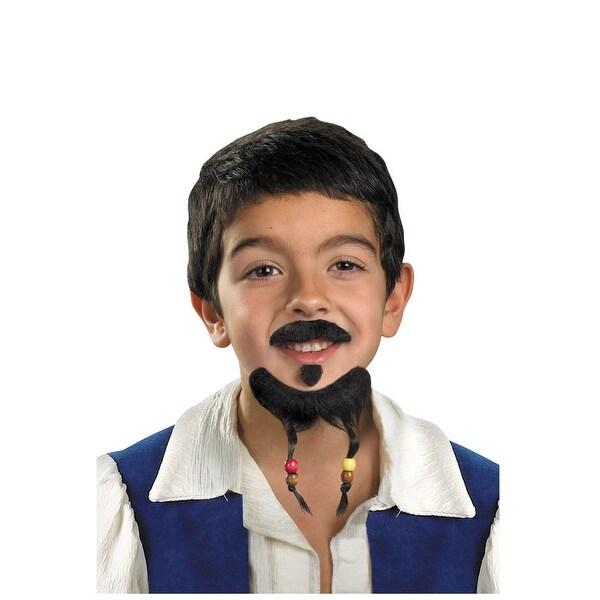 Kid's Jack Sparrow Mustache & Goatee