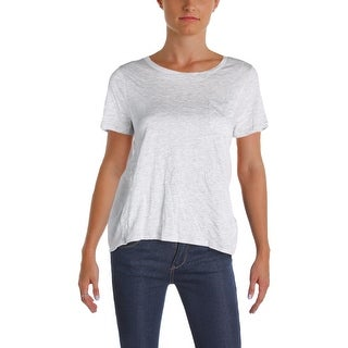 French Connection Womens Casual Top Layered Short Sleeve