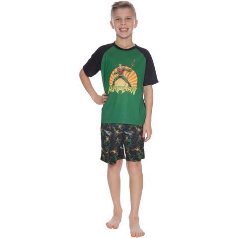 INTIMO Aquaman Justice League Pajama Short Set