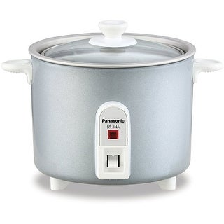 Panasonic SR-3NAL 1.5-Cup Rice Cooker, Silver