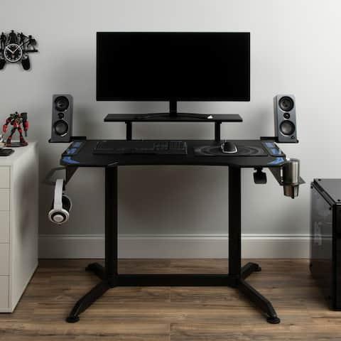 RESPAWN 3010 Gaming Computer Desk - Ergonomic Height Adjustable Gaming Desk (RSP-3010)