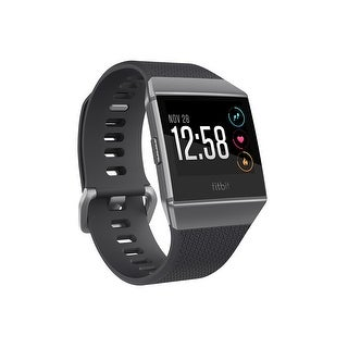 Fitbit Ionic Smartwatch (Charcoal/Smoke Gray/ One Size) - N/A