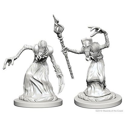 Dungeons & Dragons: Nolzur's Marvelous Unpainted Minis: Mindflayers