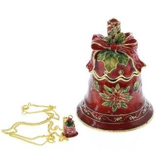 Christmas Bell Trinket Box