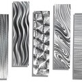 Statements2000 Silver Metal Wall Art Accent Panels by Jon Allen (Set of 5) - 5 Easy Pieces - Thumbnail 10