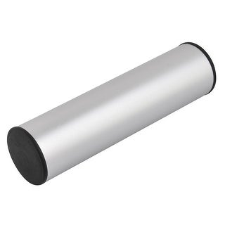 Aluminum Musical Instrument Rhythm Percussion Studio Sand Shaker Silver Tone