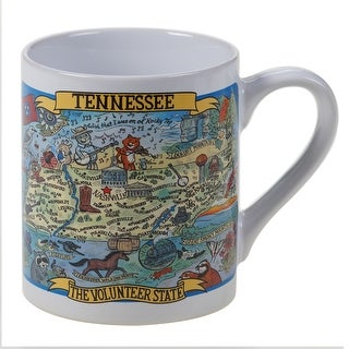Link to Certified International Tennessee Souvenir Jumbo Mugs (Set of 6) Similar Items in Dinnerware
