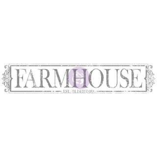 Iron Orchid Designs Decor Transfer Rub-Ons-Farmhouse 2/Pkg