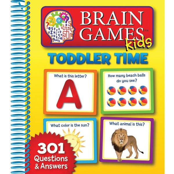 Brain Games Kids Toddler Time