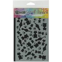 "Dyan Reaveley's Dylusions Stencils 5""X8""-It's Raining Cats"
