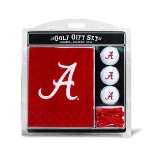 Alabama Crimson Tide Golf Gift Set With Embroidered Towel