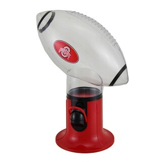 Ohio State University OSU Officially Licensed Football Shaped Candy Dispenser - Red