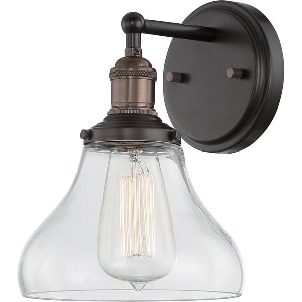 "Nuvo Lighting 60/5513 1-Light 9-3/4"" High Wall Sconce - Rustic Bronze"