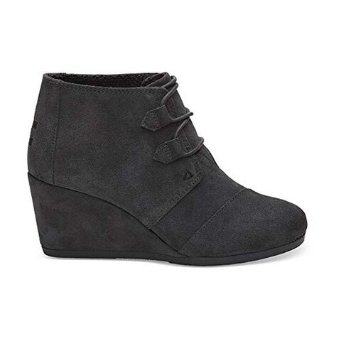 Toms Womwns Kala, Forged Iron Grey Suede