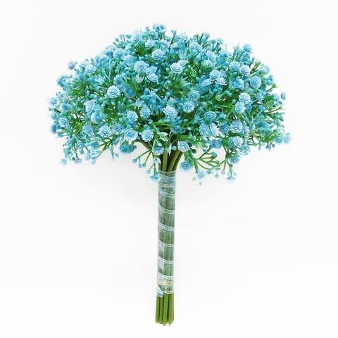 Set of 2 Baby's Breath Gypsophila Flower Stems Bouquet Bundle 12in