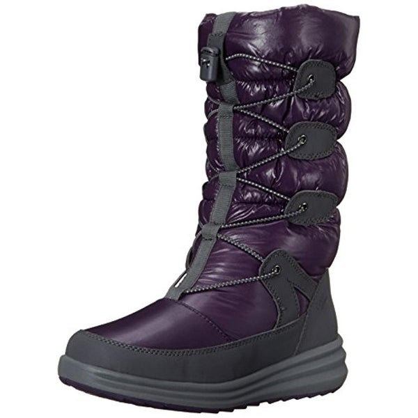 Cobb Hill Womens Brenda Snow Boots Quilted Faux Fur Lined