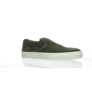 J/slides Mens Dimmi Khaki Suede Loafers Size 10