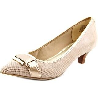Anne Klein Muriele Women Pointed Toe Leather Heels