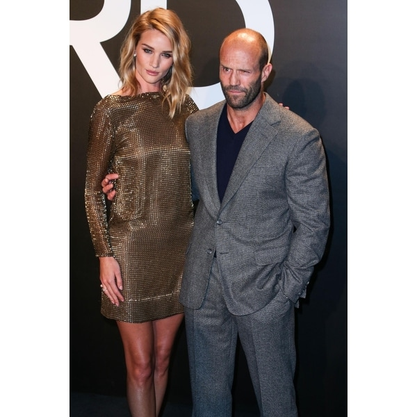 b2b83e7c Shop Rosie Huntington-Whiteley Jason Statham In Attendance For Tom Ford  AutumnWinter 2015 Womenswear Collection Milk Studios Los Ange - Free  Shipping On ...