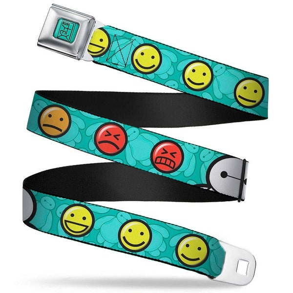 Baymax Hanko Full Color Turquoise Black Baymax Mood Expressions Baymax Seatbelt Belt