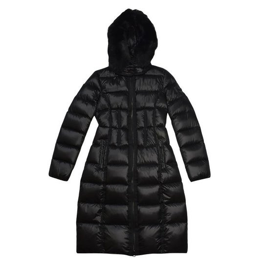 0e87eec14c Shop BCBGMaxazria Black Down Puffer Coat - Free Shipping Today - Overstock  - 19835131