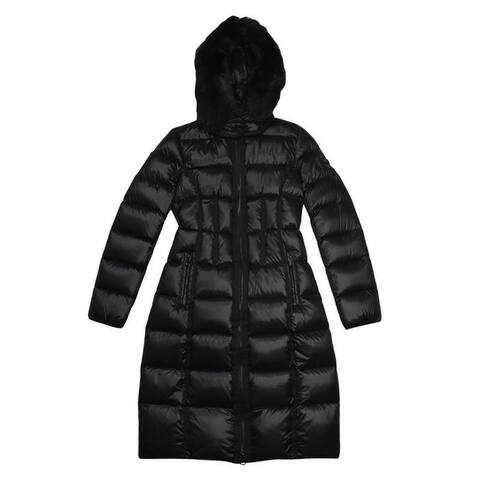 BCBGMaxazria Black Down Puffer Coat