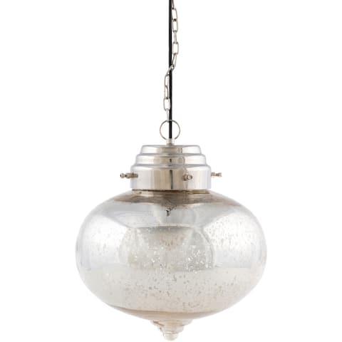 Tusten Bohemian Mercury Glass 1-light Pendant