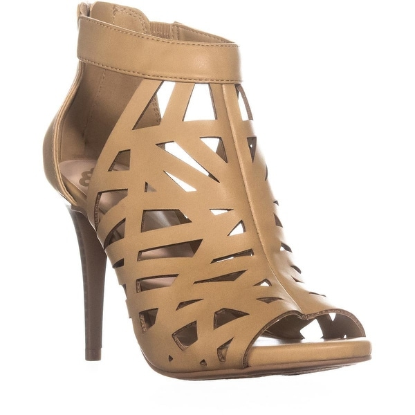 Fergalicious Huddle Strappy Sandals, Nude - 7.5 us