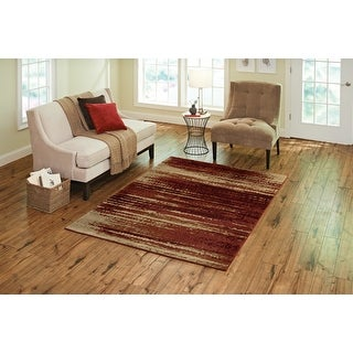 """Orian American Heritage Interference Tuscany Area Rug (3'11"""" x 5'5"""") - 3'11"""" x 5'5"""""""