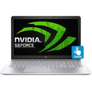 """HP Touch 15-CK013 Gaming Laptop 8th Gen. Intel Quad Core i7 up to 4.0GHz 12GB 256GB SSD 15.6"""" FHD"""