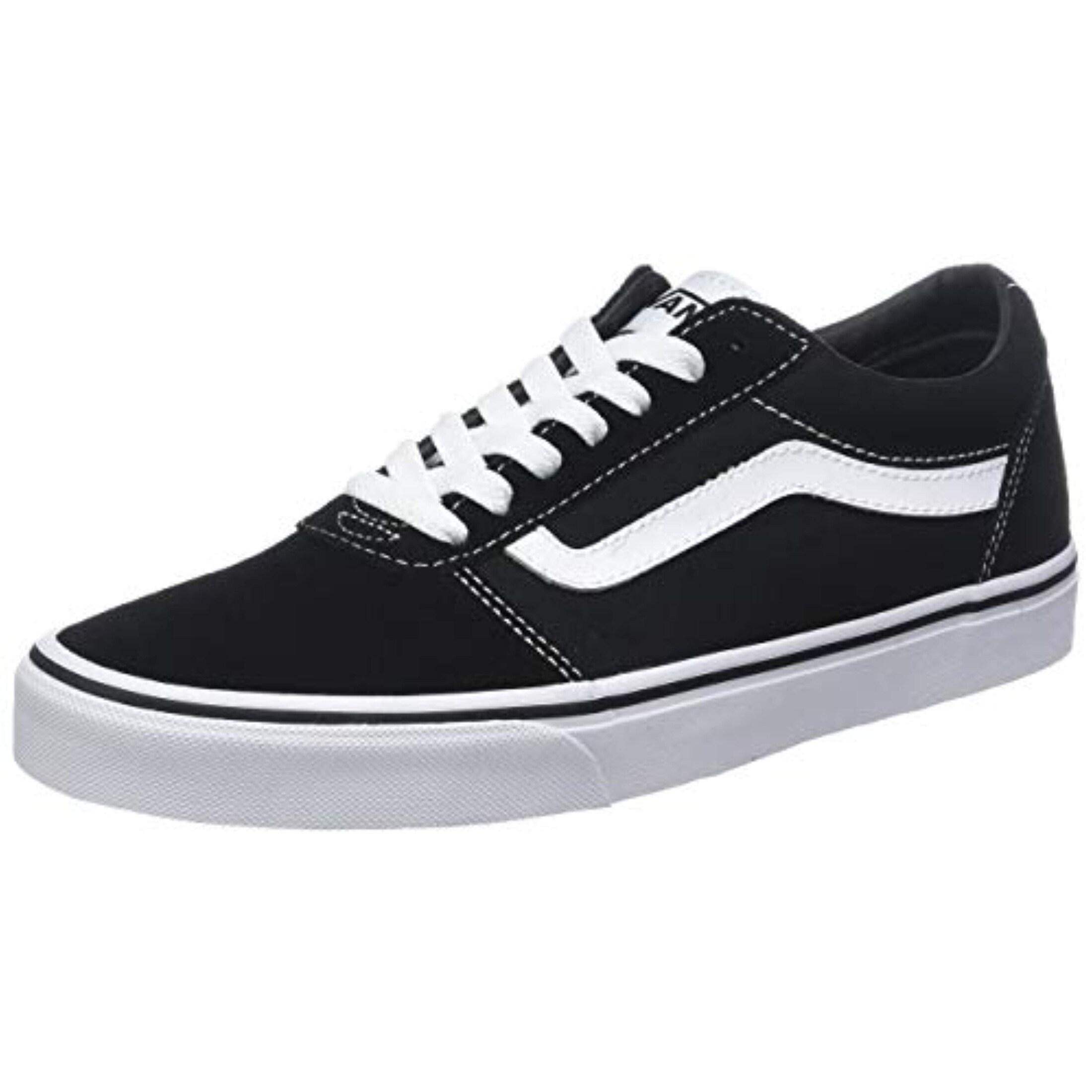 Sneakers, Black ((Suede/Canvas) Black