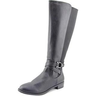 Karen Scott Davina   Round Toe Synthetic  Knee High Boot
